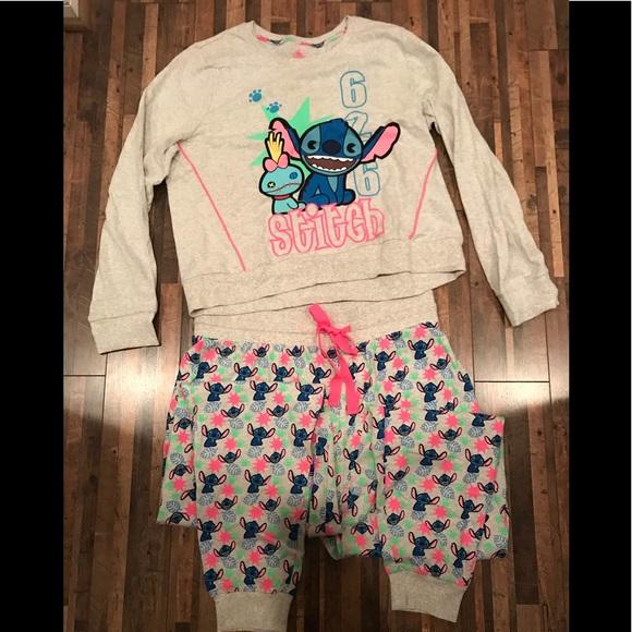 c02c795d838a Disney Other - Lilo and Stitch pajama set Adult